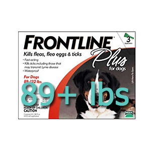 Frontline Plus for Dogs 89+ lbs