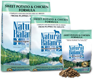 Natural Balance Sweet Potato & Chicken Formula Dry Dog Food- GF