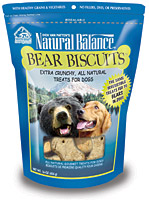 Natural Balance Bear Biscuits Dog Treats
