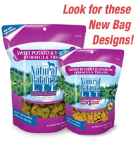 Natural Balance L.I.T. Sweet Potato & Venison Dog Treats- Grain Free