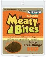 Addiction Meaty Bites Beef Dog Treats- Grain Free