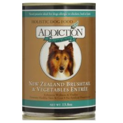 Addiction NZ Brushtail & Veggies Canned Cat Food- Grain Free
