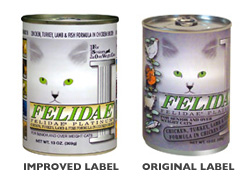 Felidae Platinum Senior/Overweight Canned Cat Food (Case of 12)