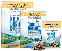 Natural Balance Duck & Potato Formula Dry Dog Food- Grain Free