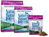 Natural Balance Sweet Potato & Venison Formula Dry Dog Food- GF