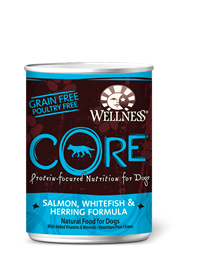 Wellness Core Salmon, White Fish & Herring Canned Dog Food