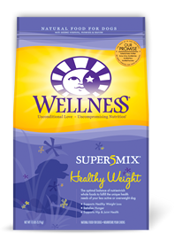 Wellness Healthy Weight Super 5 Mix Dry Dog Food