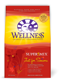 Wellness Just for Seniors Super 5 Mix Dry Dog Food