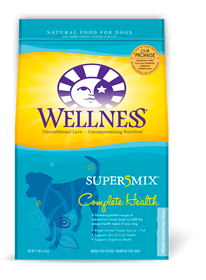 Wellness White Fish & Sweet Potato Super 5 Mix Dry Dog Food