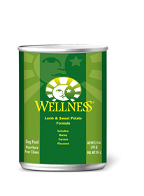 Wellness Lamb & Sweet Potato Super 5 Mix Canned Dog Food