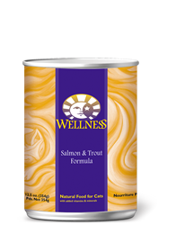 Wellness Salmon & Trout Canned Cat Food