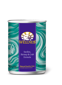 Wellness Sardines, Shrimp & Crab Canned Cat Food